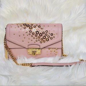 NWT: MICHAEL KORS Kinsley Pink Crossbody Bag